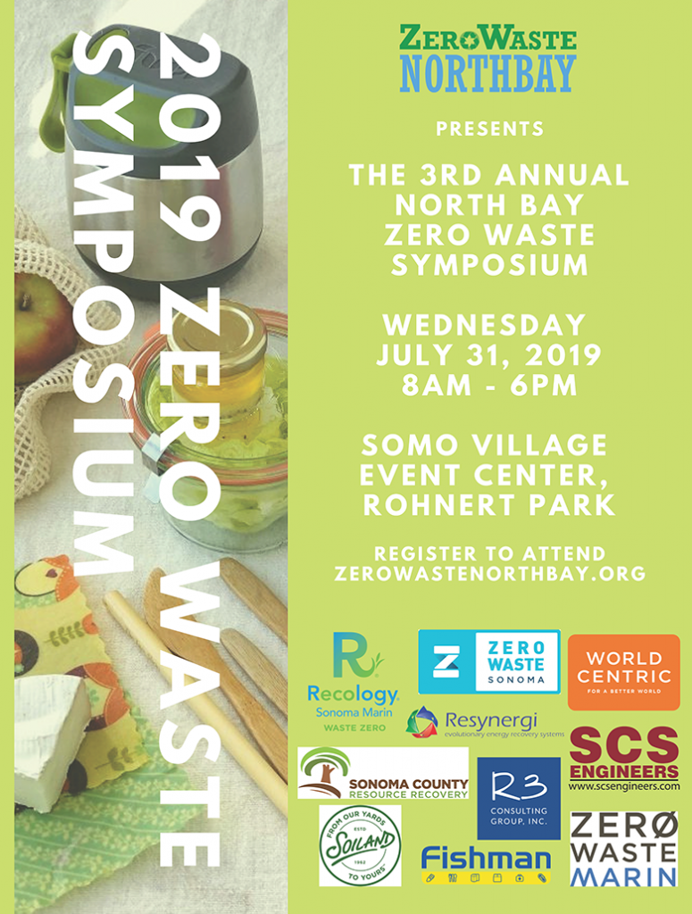 2019 Zero Waste Poster